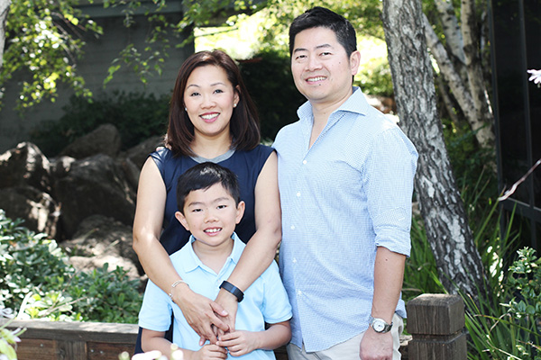 Dr. James Z. Yang and Family